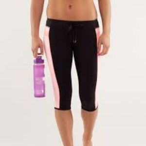 LULULEMON 'Heat It Up Crop' Bleached Coral XS 4